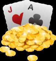 blackjack met geld